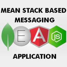 Mean Stack based messaging application