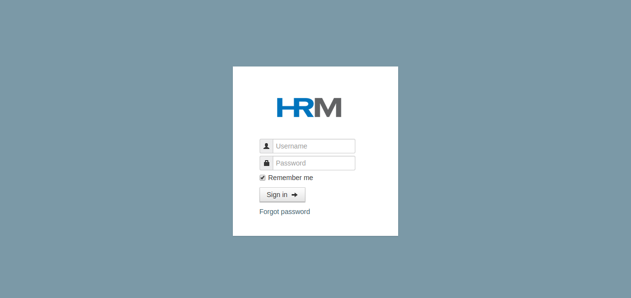 hrm-login